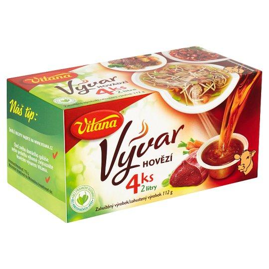 Vitana Vývar hovězí 4 ks 112g