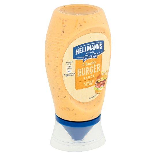 Hellmann's Omáčka k masu Chunky burger 258g