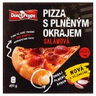 Don Peppe Salami Pizza with Filled Border 491g