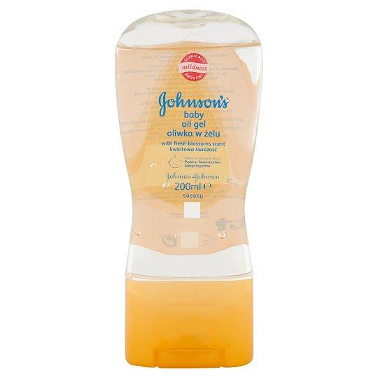 Johnson's Baby olejový gel s vůní květů 200ml