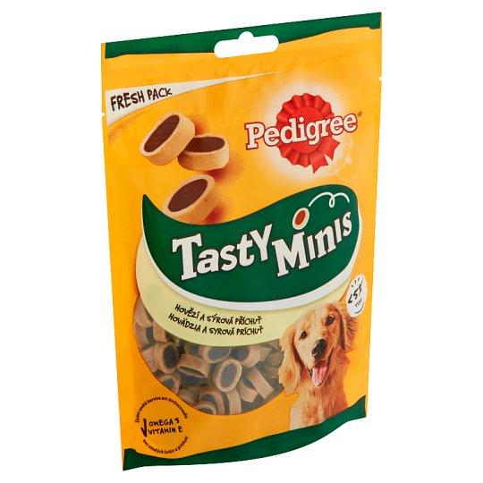 Pedigree Tasty Bites Cheesy Bites se sýrem a hovězím 140g