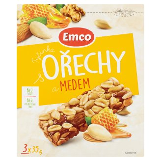 Emco Stick with Nuts and Honey 3 x 35g