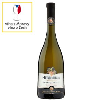 Zámecké Vinařství Bzenec Herbarium Moravicum Tramín červený pozdní sběr polosuché bílé víno 0,75l