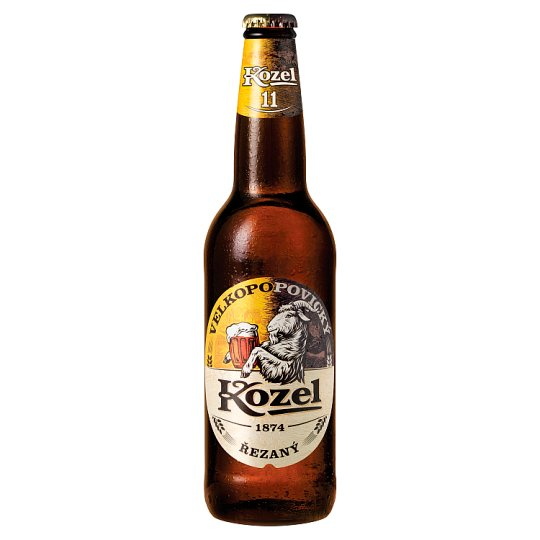 Velkopopovický Kozel řezaný 500ml