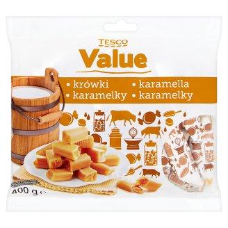 Tesco Value Karamelky 400g