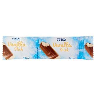 Tesco Mražený krém s vanilkovou příchutí v kakaové polevě 60ml