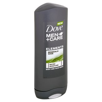 Dove Men+Care Elements sprchový gel na tělo a tvář 400ml