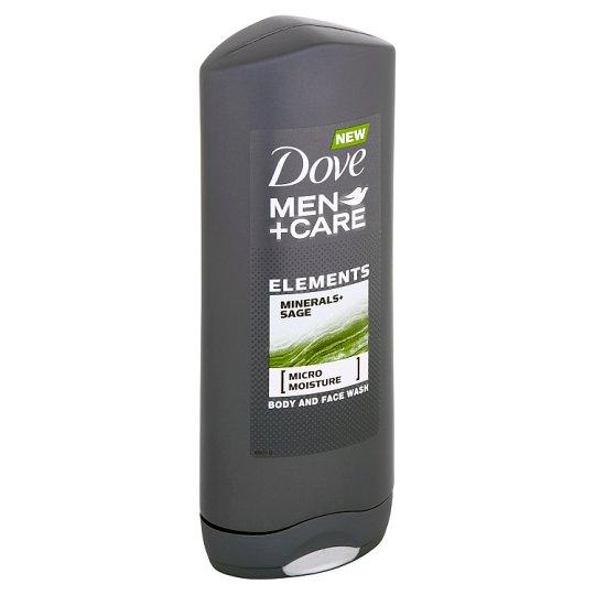 Dove Men+Care Elements sprchový gel na tělo a tvář 400ml