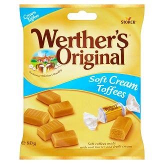 Storck Werther's Original Soft Cream Toffees 80g
