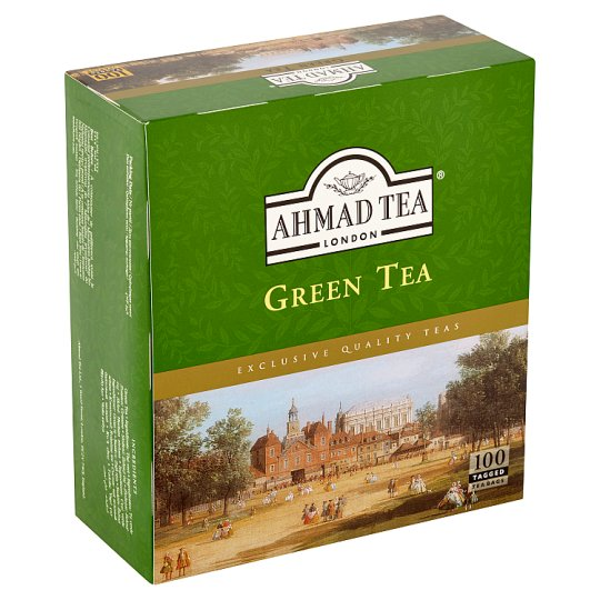 Ahmad Tea Zelený čaj 100 x 2g