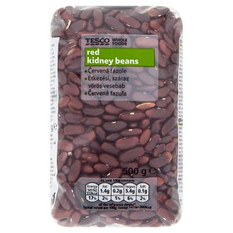 Tesco Whole Foods Red Kidney Beans 500g