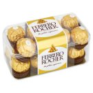 Ferrero Rocher Wafers Coated with Milk Chocolate and Crushed Hazelnuts 200g