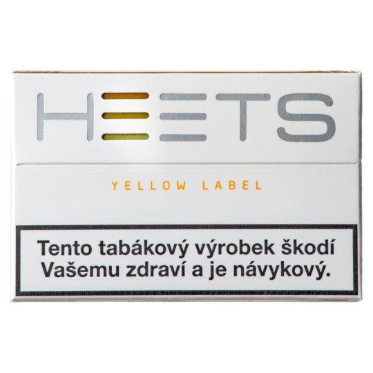 Heets Yellow Label náplně do IQOS 20 ks