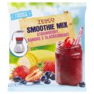 Tesco Smoothie Mix Strawberry, Banana & Blackcurrant 250g