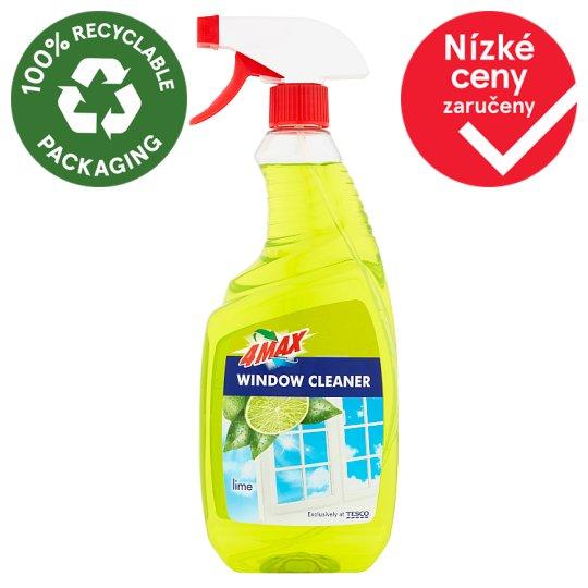 4MAX Lime čistící prostředek na okna 750ml