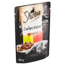 Sheba Selection in Sauce with Chicken and Beef in Juice 85g