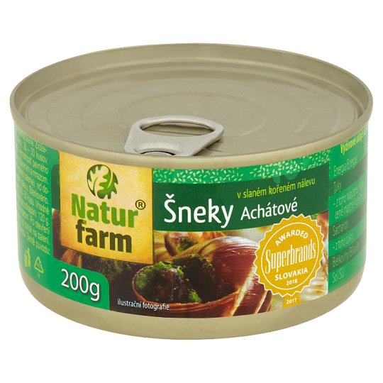 Natur Farm Agate Snails in Salty Spicy Mixture 200g