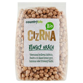 Country Life Organic Chickpeas Roman Bean 500g