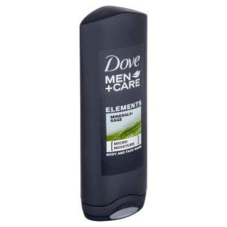 Dove Men+Care Elements sprchový gel na tělo a tvář 250ml
