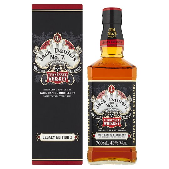 Jack Daniel's Tennessee Whiskey Legacy Edition 2 0,7l