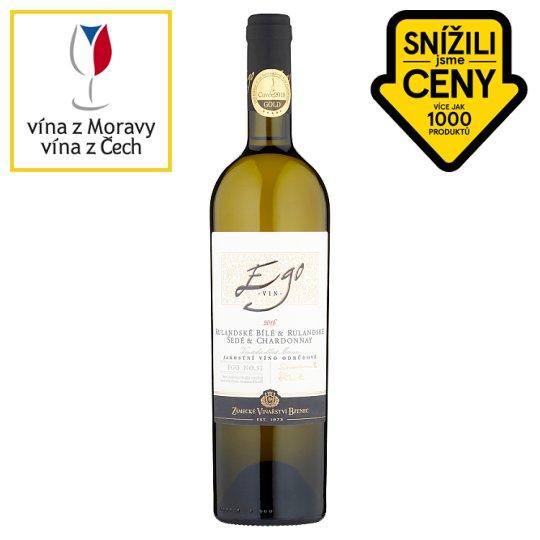 Zámecké Vinařství Bzenec Ego no. 57 Rulandské bílé & Rulandské šedé & Chardonnay 750ml