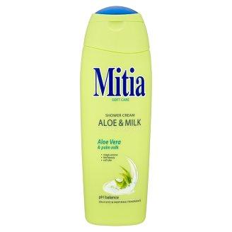 Mitia Aloe & Milk sprchový krém 400ml