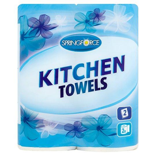 Springforce Kitchen Towels 2 Rolls