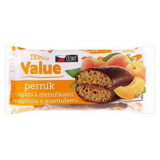 Tesco Value Gingerbreads with Apricots 60g