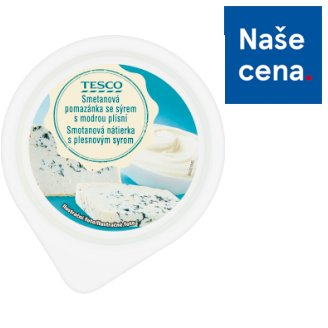 Tesco Cream Spread with Cheese with Blue Mold 150g