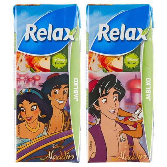 Relax Fruit Drink Apple 200ml