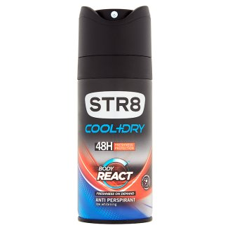 STR8 Cool+Dry Body React anti perspirant 150ml
