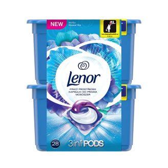Lenor Washing Capsules Radiant Water Lilly 28 Washes