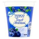 Tesco Smetanový jogurt s borůvkami 150g