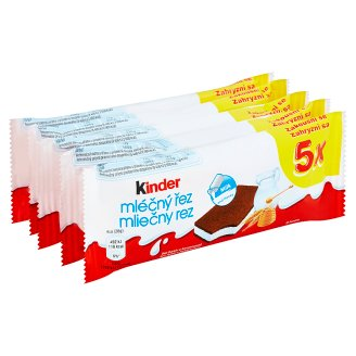 Kinder Milk Cut 5 x 28g