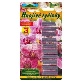 Nohel Garden Hnojivé tyčinky na orchideje 20 ks 24g
