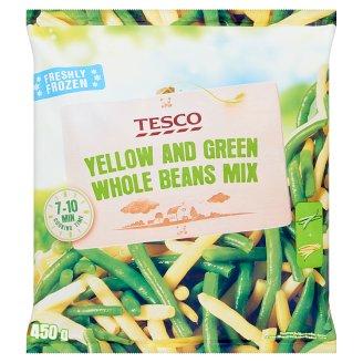 Tesco Směs žlutých a zelených fazolových lusků 450g