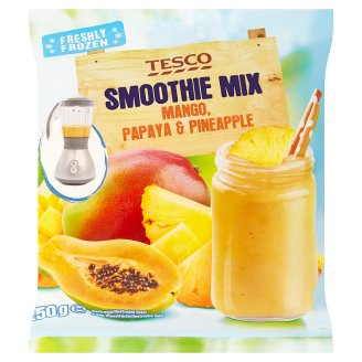 Tesco Smoothie Mix Mango, Papaya & Pineapple 250g