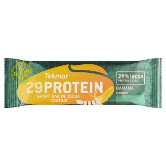 Tekmar Protein Bar with Banana Flavor in Dark Chocolate Glaze 60g