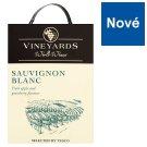 Vineyards World Wines Sauvignon Blanc víno bílé suché 3l