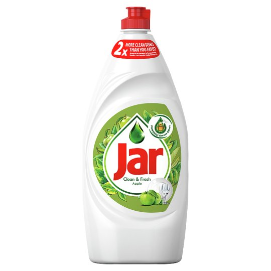 Jar Washing Up Liquid Apple 900ml