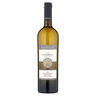 Mikrosvín Mikulov Ryzlink vlašský jakostní víno s přívlastkem výběr z hroznů, bílé, suché 0,75l