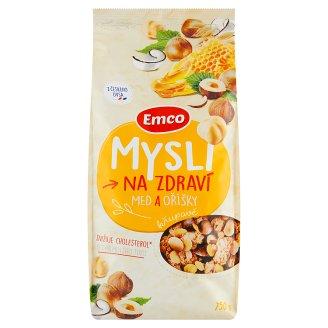 Emco Mysli na Zdraví Crispy Honey and Nuts 750g