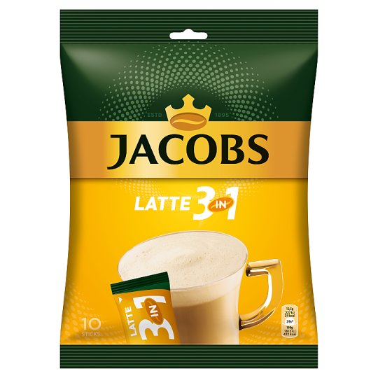 Jacobs Cafe Latte 3in1 10 x 12,5g