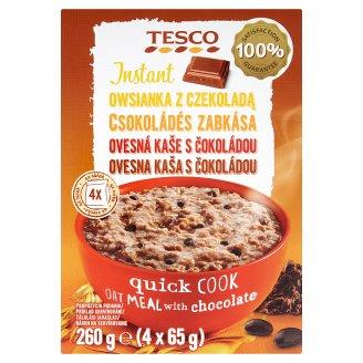 Tesco Instant ovesná kaše s čokoládou 4 x 65g