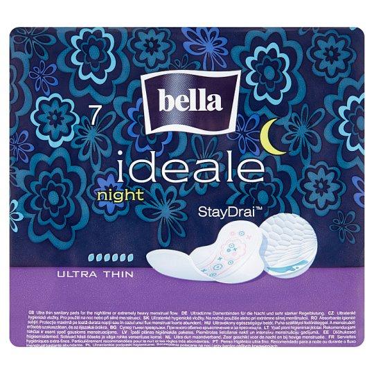 Bella Ideale Night StayDrai ultratenké hygienické vložky 7 ks
