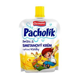 Ehrmann Pacholík Smetanový krém s příchutí vanilky 80g