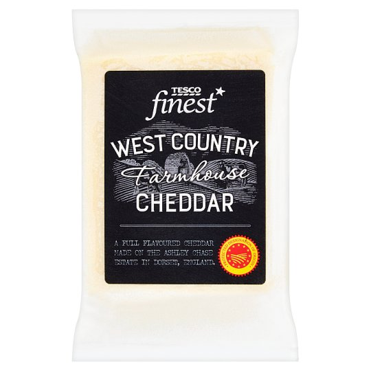 Tesco Finest West Country Farmhouse Cheddar 200g