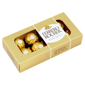 Ferrero Rocher Wafers Coated with Milk Chocolate and Crushed Hazelnuts 100g
