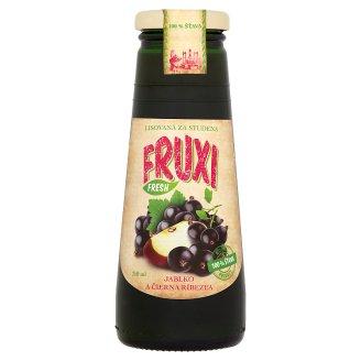 Fruxi Fresh Šťáva z čerstvě lisovaných jablek a černého rybízu 250ml