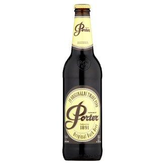 Pardubický Porter 19 originální tmavé pivo 0,5l